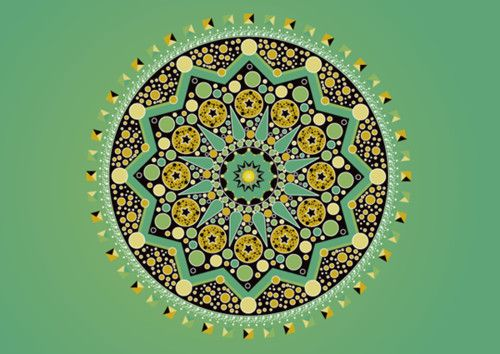 greener on the othersideDoodles Pattern, Colors Pattern, Art, Pattern Texture, Behance Network, Mandalas Verde, Colors Verdadero, Design, Magnific Mandalas