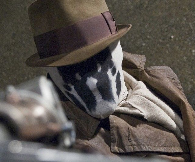 Moving Rorschach Masks - http://tiwib.co/moving-rorschach-masks/ #Costumes