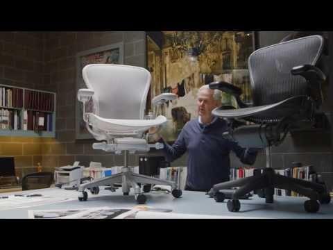 Herman Miller Aeron - Masterpiece Remastered - YouTube