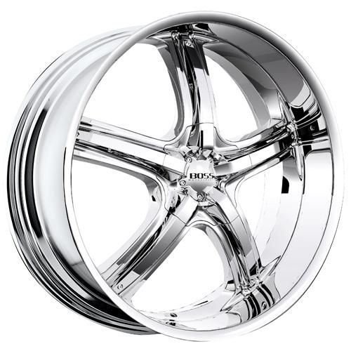black 22 inch chrome wheels | Boss Wheels Rims 333 22 24 inch Chrome