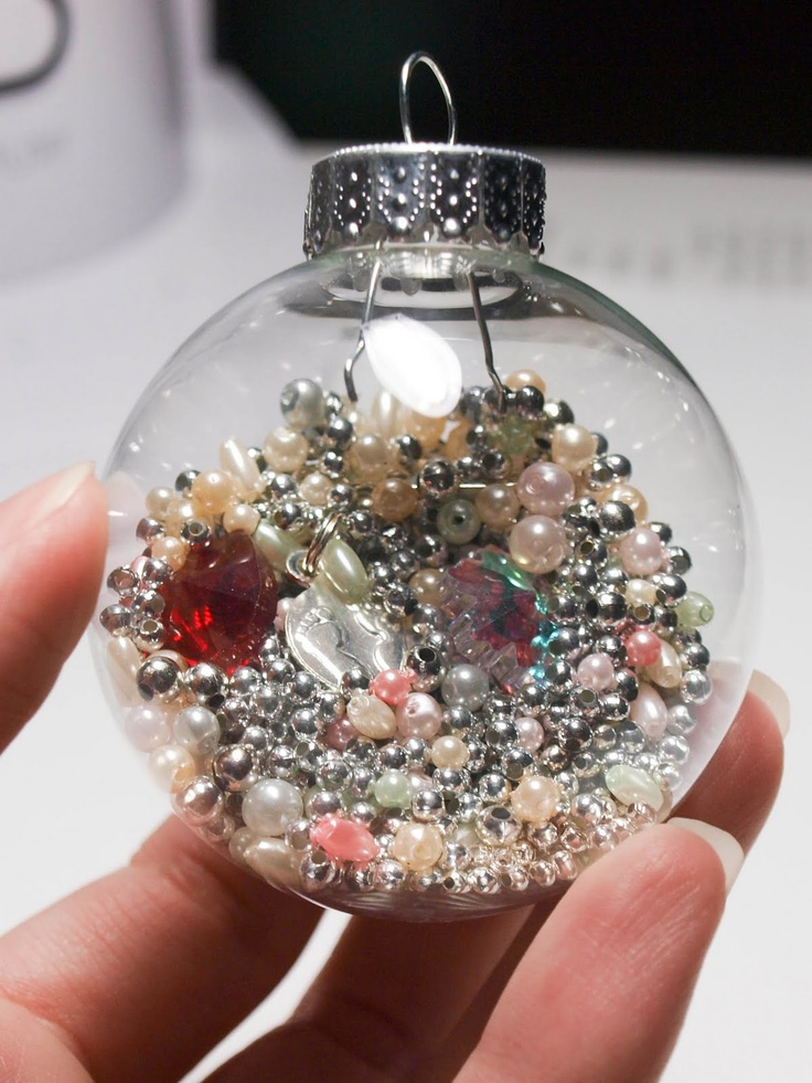 1000 ideas about clear ornaments on pinterest ornaments for Crafts for clear glass ornament balls