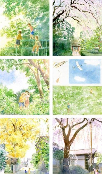 537. Yuko Kitazawa 의 수채화 일러스트 / 반짝이는 일상의 행복 : 네이버 블로그
