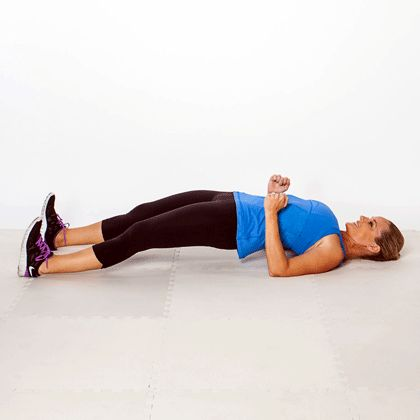 8 moves to banish bra bulge, back pain, and bad posture - Full-Body Bridge
