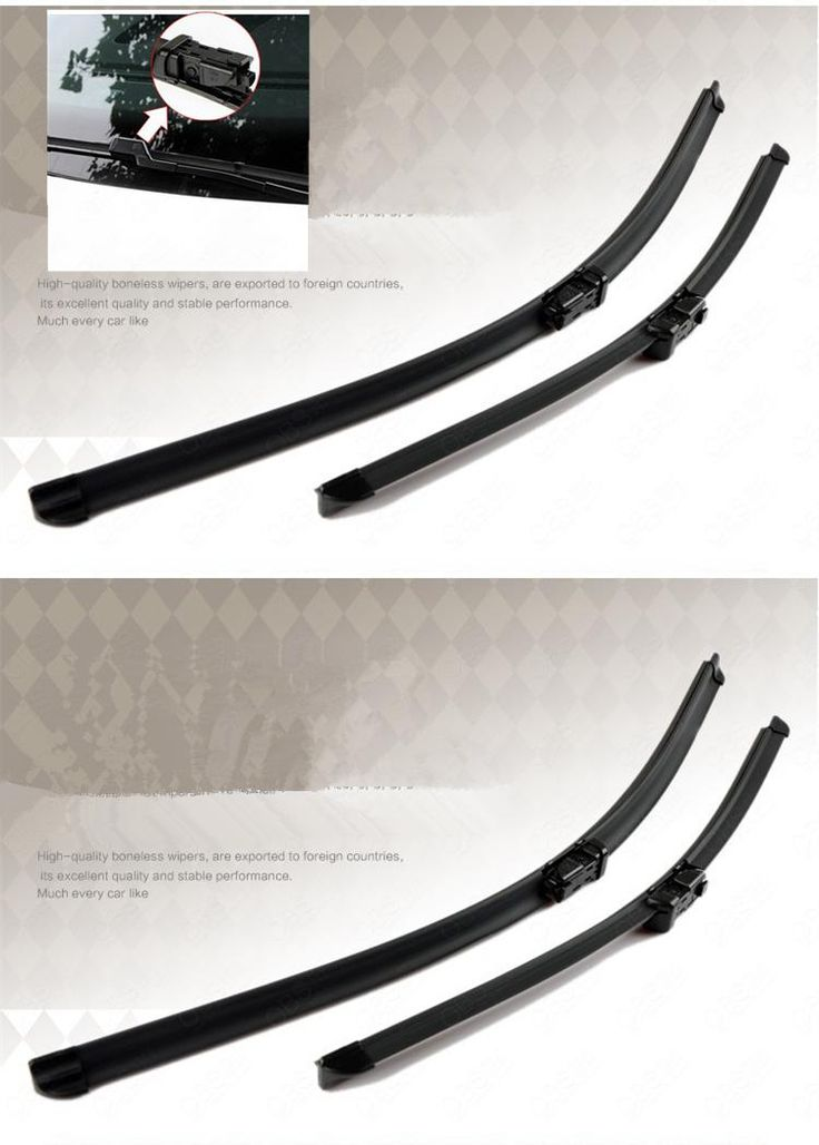 """[Visit to Buy] For Land Rover Range Rover Evoque 2011 2012 2013 2014 24""""+21"""" Soft Quality Rubber Windscreen Wipers Windshield Wiper Blade #Advertisement"""