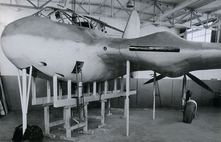 Messerschmitt Me 329 - the project of heavy fighter developed by Alexander Lippisch. Only mockup was built