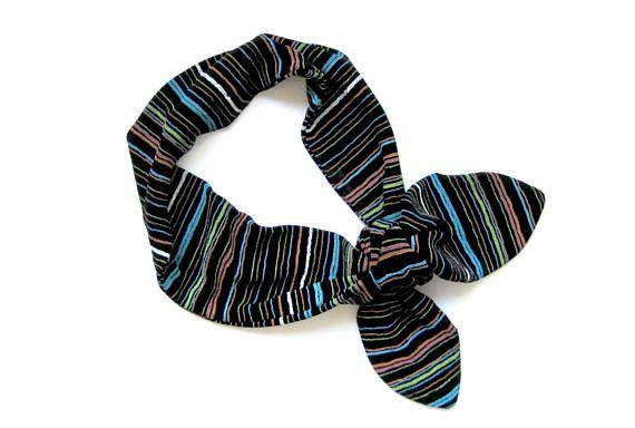 Dolly Bow Headband Bandana Headband Dolly Bow Rockabilly #rockabilly #dollybow