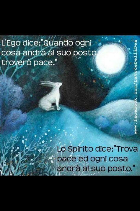 La difficile ma possibile ricerca della pace: parte prima dallo spirito ed è per questo che è difficile da trovare, ma quando la si trova dona gioia al cuore. Nicoletta Lastella