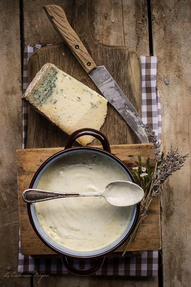 La Cucharina Mágica: Salsa de quesos asturianos: La Peral y Gamonéu