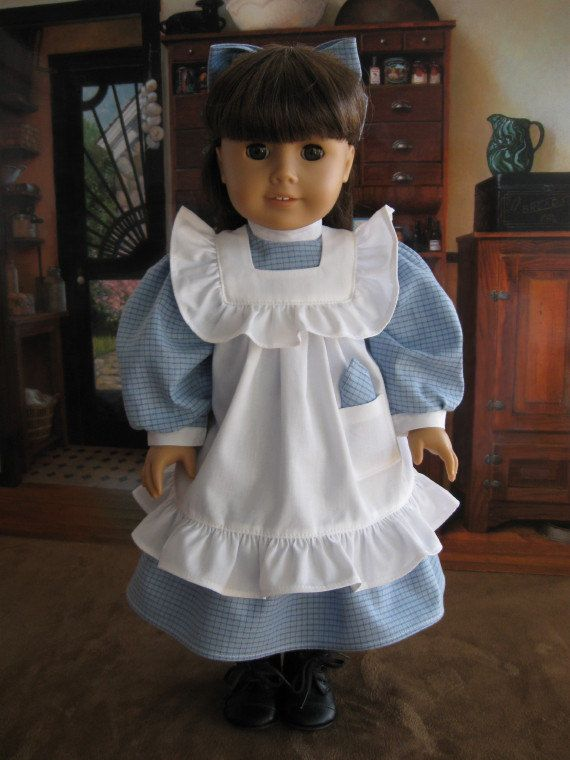1900's 3 piece play dress for American Girl Samantha - or other 18 inch dolls - ready to ship. $44.50, via Etsy.