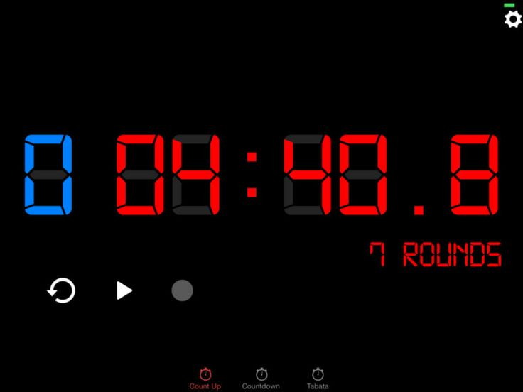 I just found the best CrossFit workout timer app out there.