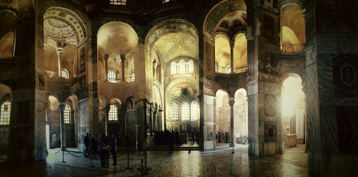 Ravenna, the ancient cathedral, Italy