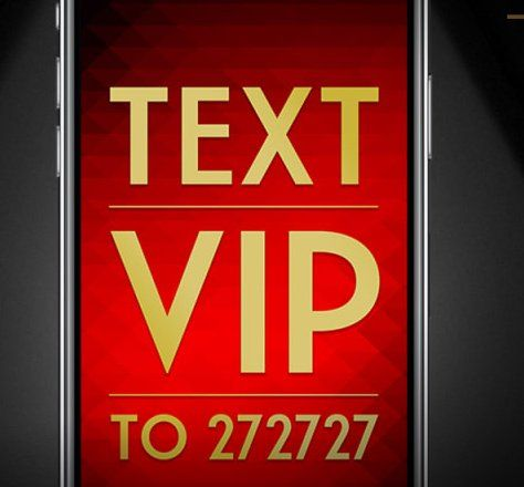 Text VIP to short-code 272727 and enter to win a $2,500.00 screening for up to 100 guests at an available AMC theatre between March 13, 2018 and April 26, 2018!