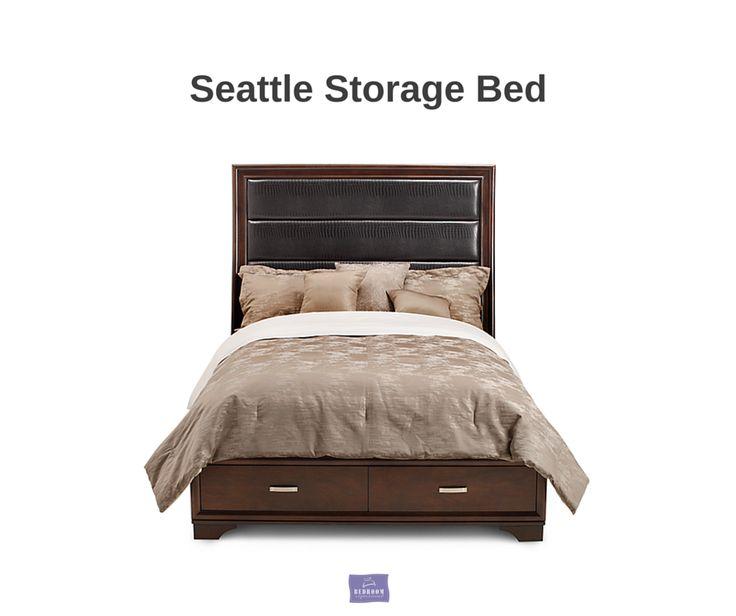 Urban Style That Lastsu2013Seattle Queen Storage Bed