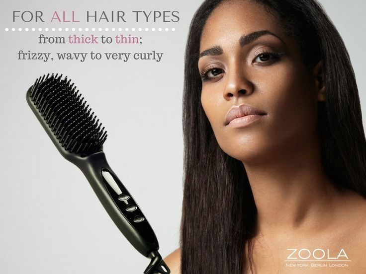 Ultimate Hot Brush Hair Straightener by ZOOLA- Women's Electric Hair Brush Professional Styling Tool, 2 in 1 Heated Hair Straightening Brush, Anion Technology, Anti-Scald, 250F - 450F and Fast Heating >>> Check out this great article. #hairdresser