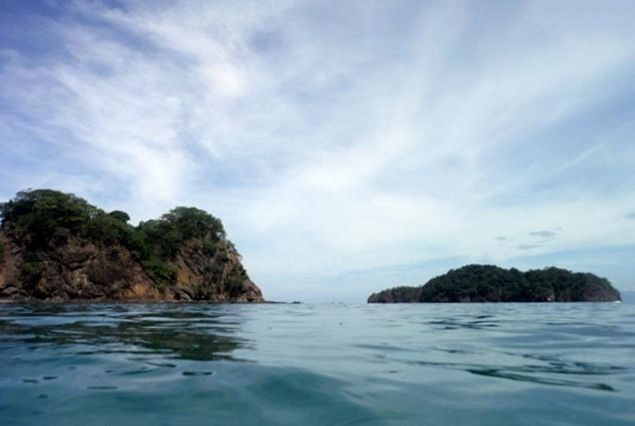 Boating around the Gulf of Papagayo, Costa Rica.