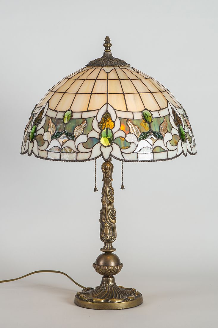Stained Glass Decorative Lamp Unique Tiffany Style Lamp Bedside
