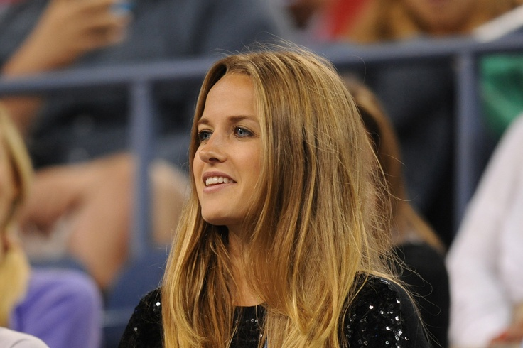 Andy Murray's girlfriend, Kim Sears watches her boyfriend in fourth round action of the US Open - Rob Loud/USTA