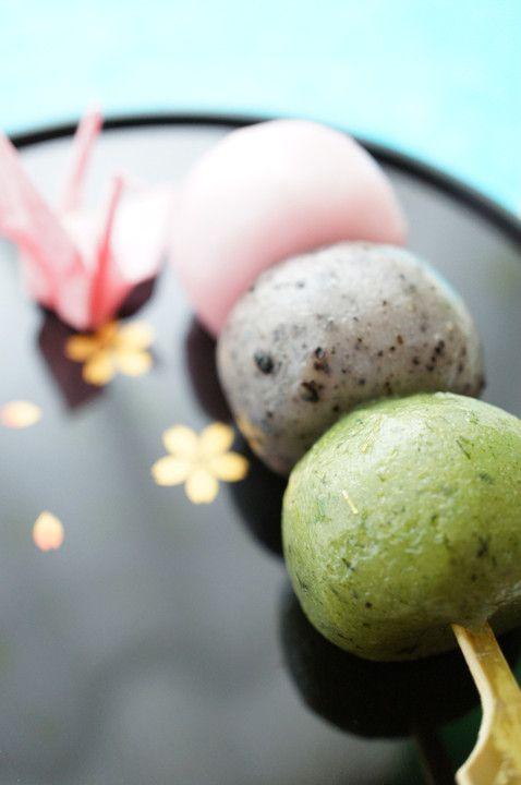 春だんご  hanami dango