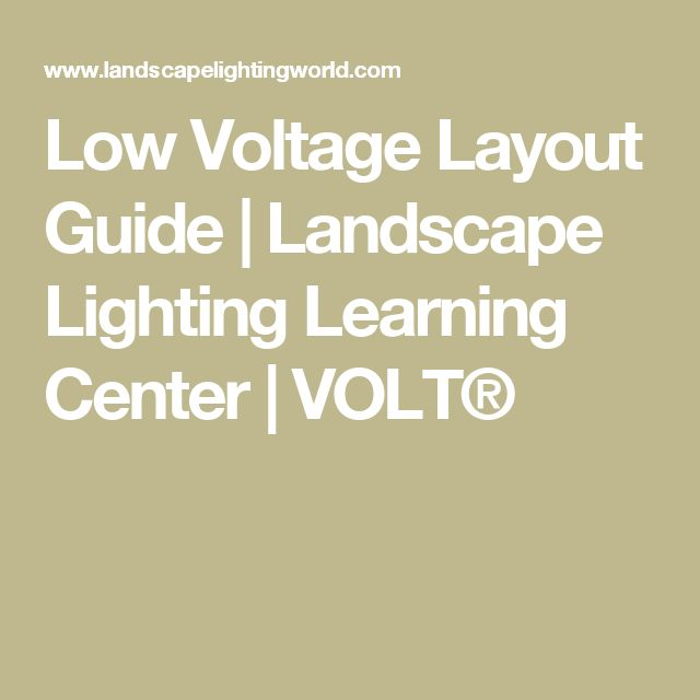 Low Voltage Layout Guide   Landscape Lighting Learning Center   VOLT Best 25  Volt landscape lighting ideas on Pinterest   Palm trees  . Low Voltage Landscape Lighting Installation Guide. Home Design Ideas