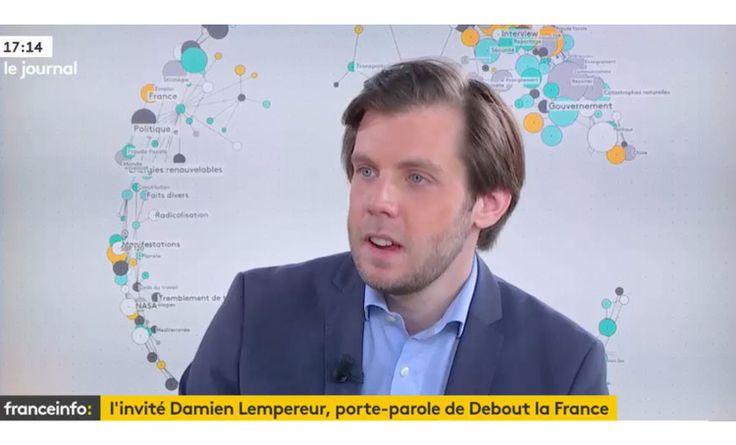 Debout La France - Damien Lempereur invité de France Info Tv