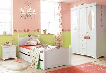 Kleiderschrank, 3-türig,Kids Room, Room Girls