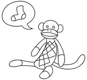Sock-It-To-Me Monkey
