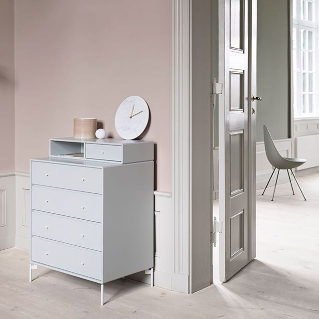 Light, dusty pastels. KEEP is the small dresser that you can choose in all of our 42 colours. Colour: Nordic. #montanafurniture #danishdesign #dresser #pastels #interiordecor #interiordesign #homedecor #nordicinspiration