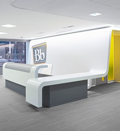 55 Inspirational Office Receptions, Lobbies, and Entryways