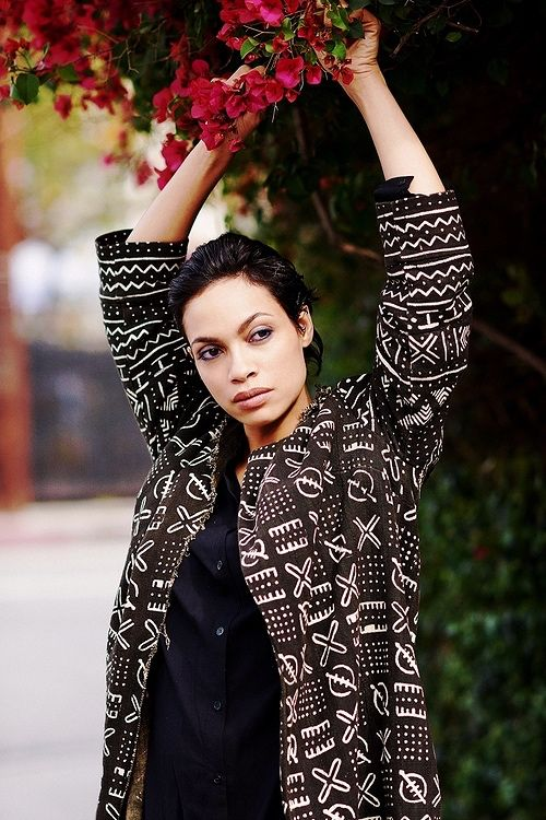 Rosario Dawson for Yahoo Style