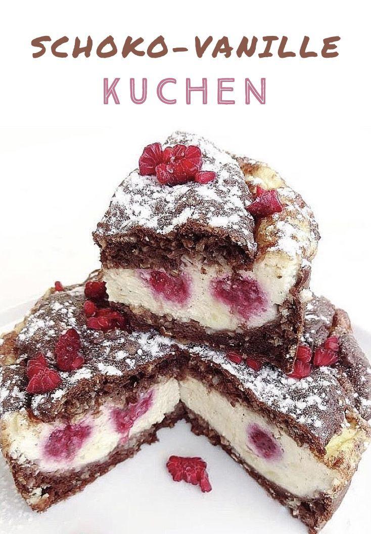 Schoko-Vanille Kuchen