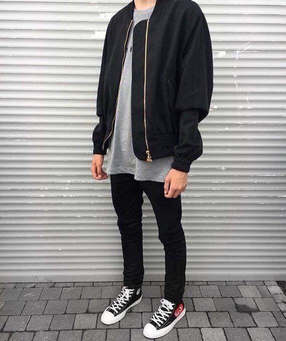 Mens fashion casual urban, Mens streetwear