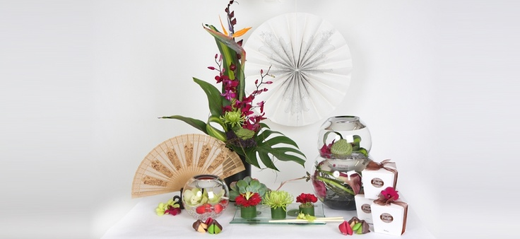 Another example of creativity that Ambrosia Designer Florist are world famous in Invercargill for.   There is always something new and exciting to see in the shop on Tay Street.