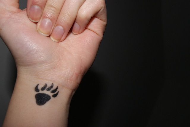 Bear Paw Tattoo by juuddyy, via Flickr