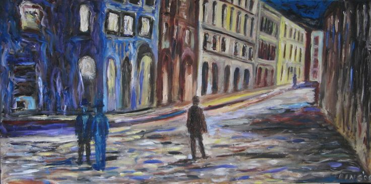 Art World of Bing He 冰荷的藝術世界 - Paintings 绘画