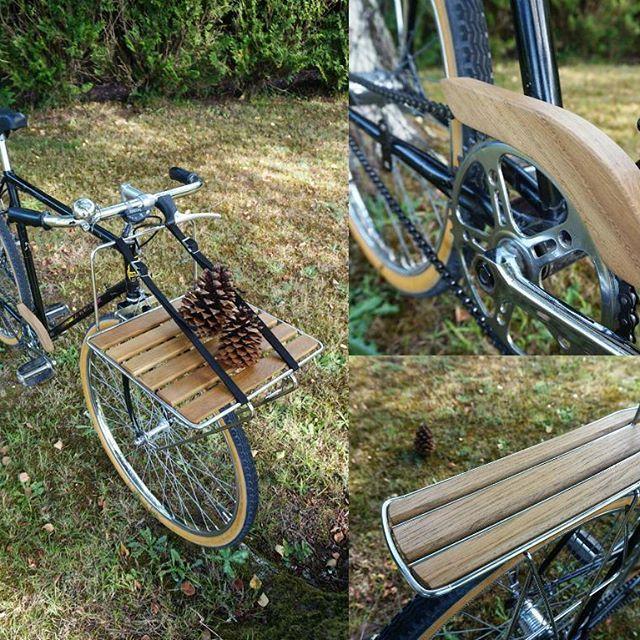 #menuiserie #woodworking #woodwork #chêne #oak #vélo #bike #bois #wood #lapierre #porteur #superluxe #bordeaux #gastes #ecofriendly #wooddesign
