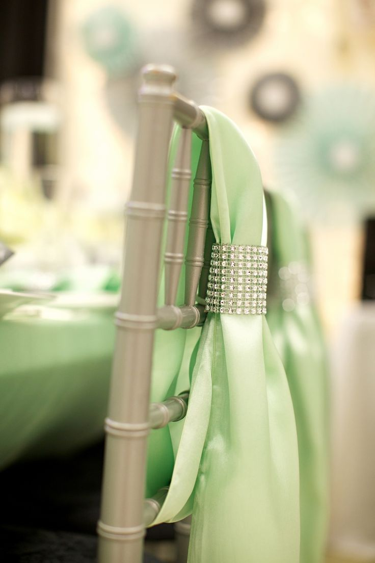 Beach wedding chair sashes - Find This Pin And More On Chair Sash Wedding Event Decor