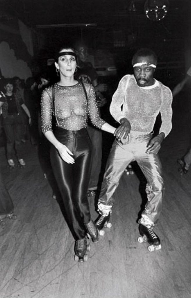 Cher Studio 54.... I'm totally wearing my skates!