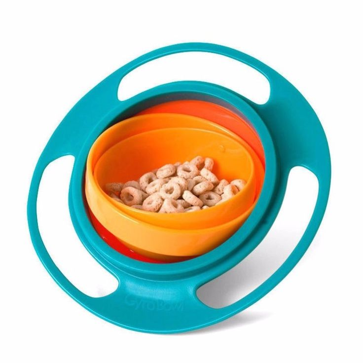 1Pc Food Grade Baby Bowl Children's Toddlers Baby Kids bowl Non Spill Eat Food Snacks Bowl Lunch box Children New Year