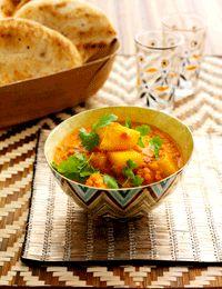 Indisk kartoffel-curry