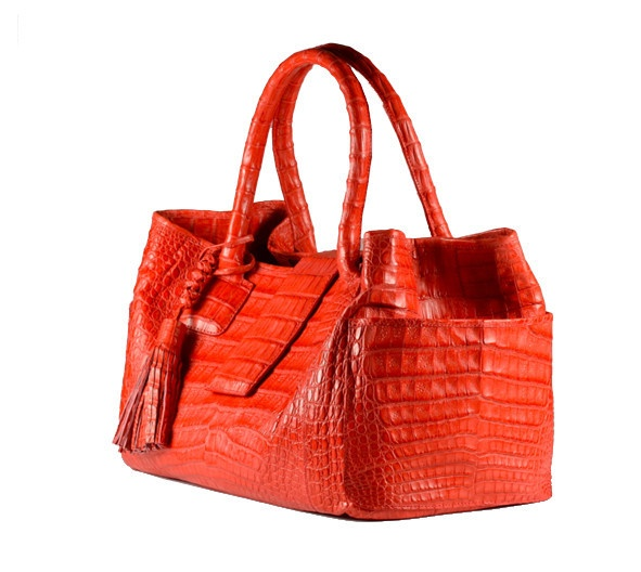 Mini-Power #crocodile #bag. Handmade in Colombia. Rinkel's signature bag -- super wearable, chic and sophisticated. $2100