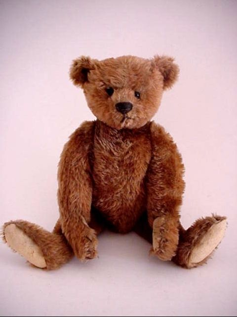 Antique *Steiff Teddy Bear* 12in * Cute! #Steiff