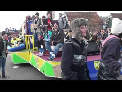 Gespierde Spijkers 2016 Geinprijs carnavalsoptocht Het Masker  Zwaag