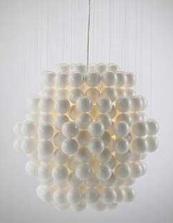 Vintage (1969) PENDANT LIGHT Ball by VERNER PANTON favorited by LIGHTBOX AMSTERDAM