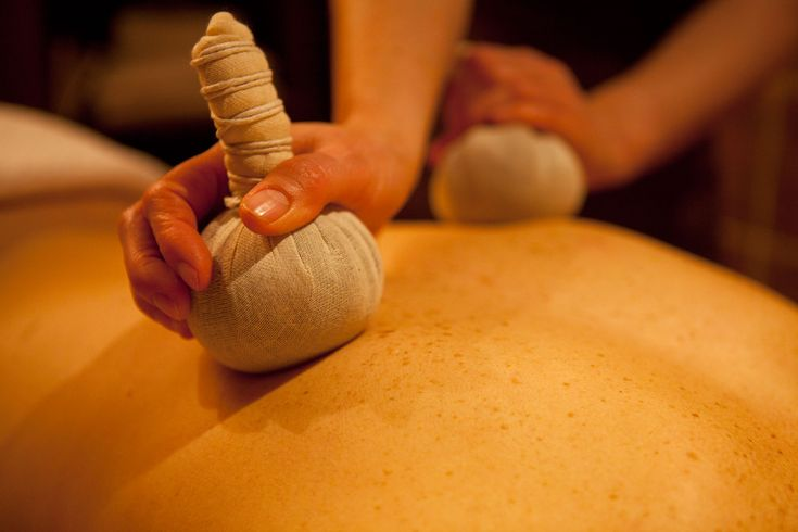 VOYA's Herbal Bag Massage available in a spa near you!