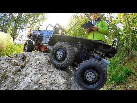 Lego Truck Trial in Poland: 2016 final with CRASHES - YouTube