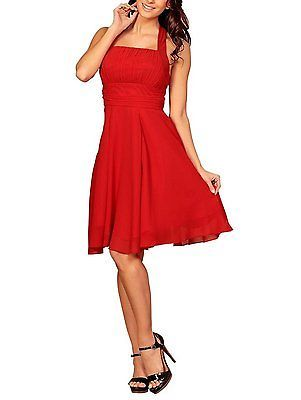20, Red, MY EVENING DRESS Women's Samantha NEW