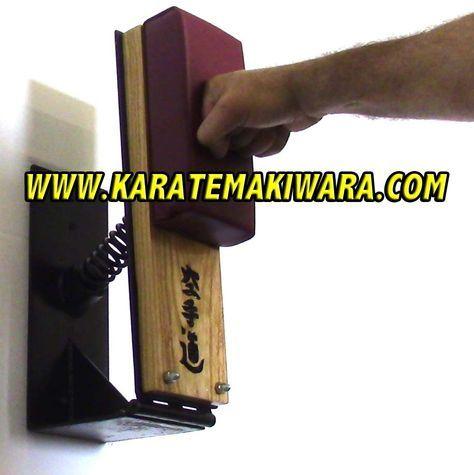 http://www.karatemakiwara.com makiwaras are padded and ...
