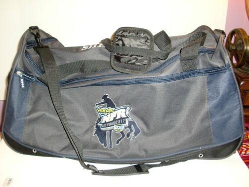 Wrangler Long Live Cowboys Rolling Duffel Bag Travel Nfr