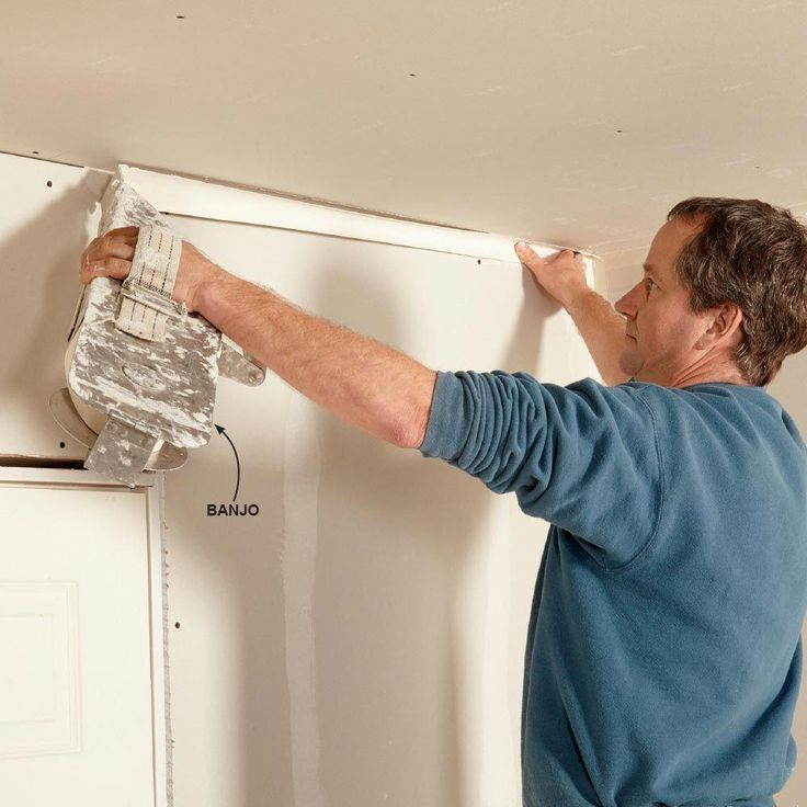 how to sand drywall corners