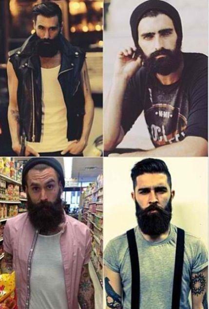 Counterclockwise from bottom left -- Ricki Hall,  Chris John Millington, Joel Alexander and Luke Ditella,.